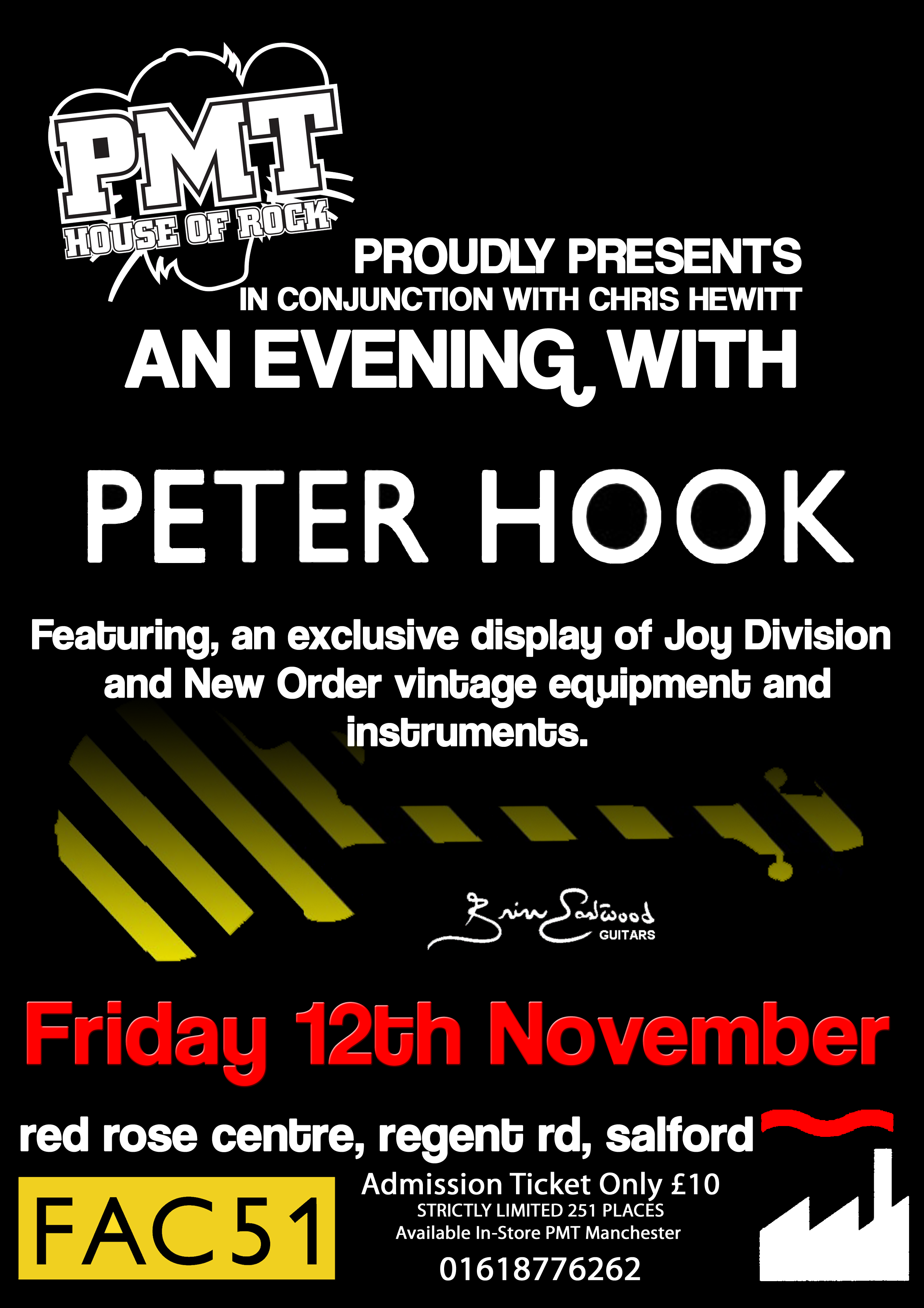Joy Division New Order The Guitar Wiring Blog Diagrams And Tips November 2010 Chris Hewitt Proudly Present An Evening With Peter Hook Live At Professional Music Technology Regent Rd Salford On Friday 12th